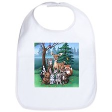 Forest Family Bib