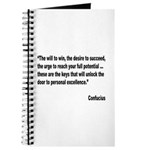 Confucius Personal Excellence Quote Journal