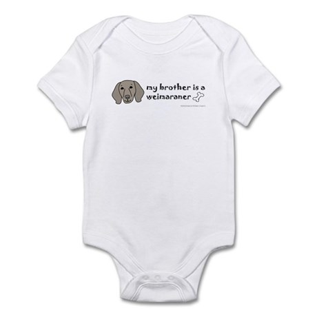 weimaraner gifts Infant Bodysuit