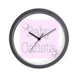 Cute Calista Wall Clock