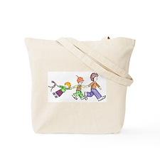 Kids walking Tote Bag
