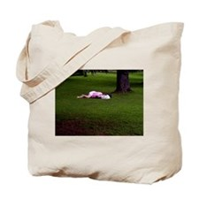 Afternoon Sleeper Tote Bag
