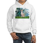 Lilies / Ital Greyhound Hooded Sweatshirt