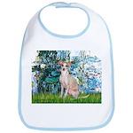 Lilies / Ital Greyhound Bib