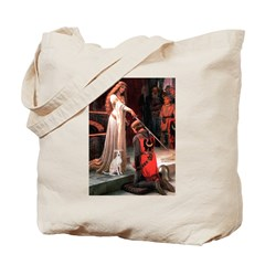 Accolade / Ital Greyhound Tote Bag