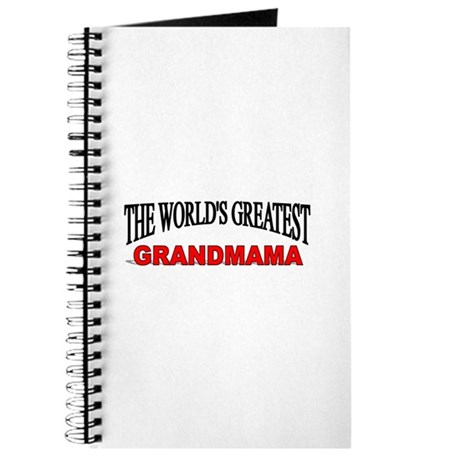 """The World's Greatest Grandmama"" Journal"