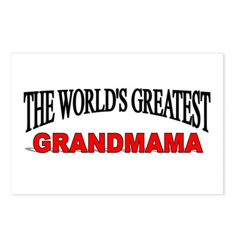 """The World's Greatest Grandmama"" Postcards (Packag"