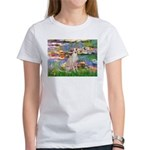 Lilies / Ital Greyhound Women's T-Shirt