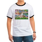 Lilies / Ital Greyhound Ringer T