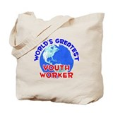 World's Greatest Youth.. (E) Tote Bag