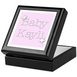 Cute Kaylie Keepsake Box