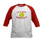 BIRTHDAY Kids Baseball Jersey