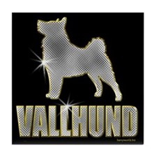 Bling Vallhund Tile Coaster