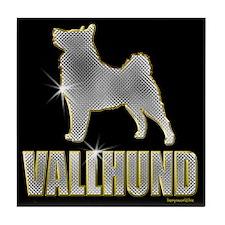 Bling Vallhund Tile Coaster