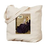 Whistler's / Ital Greyhound Tote Bag