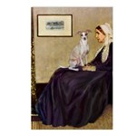 Whistler's / Ital Greyhound Postcards (Package of