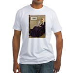 Whistler's / Ital Greyhound Fitted T-Shirt
