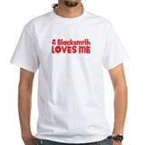 A Blacksmith Loves Me Shirt