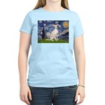 Starry Night / Ital Greyhound Women's Light T-Shir