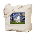 Starry Night / Ital Greyhound Tote Bag