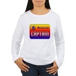 Captain Kids Women's Long Sleeve T-Shirt