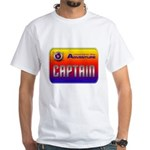 Captain Kids White T-Shirt