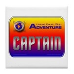 Captain Kids Tile Coaster