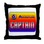 Captain Kids Throw Pillow