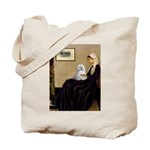 Whistler's Mother Maltese Tote Bag