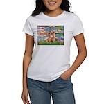 Lilies / Chihuahua (lh) Women's T-Shirt