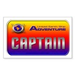 Captain Kids Rectangle Sticker