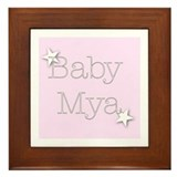 Cute Mya Framed Tile