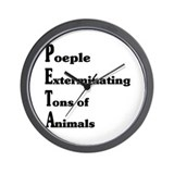 No people Wall Clock