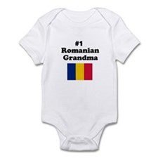 #1 Romanian Grandma Infant Bodysuit