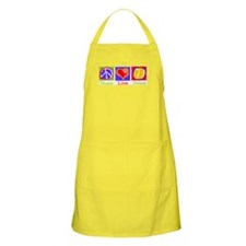 Peace Love Tennis BBQ Apron