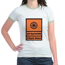 Dr Randoms Chaos Wear-blk/org T