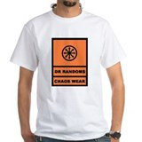 Dr Randoms Chaos Wear-blk/org Shirt
