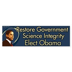 Restore Government Science. Elect Obama.