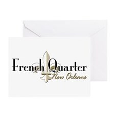 French Quarter New Orleans Greeting Cards (Pk of 1