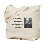 Shakespeare 16 Tote Bag