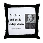 Shakespeare 16 Throw Pillow