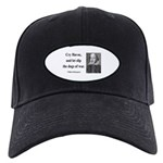 Shakespeare 16 Black Cap