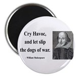 "Shakespeare 16 2.25"" Magnet (100 pack)"