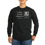 Shakespeare 16 Long Sleeve Dark T-Shirt