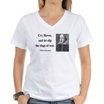 Shakespeare 16 Women's V-Neck T-Shirt