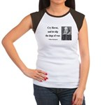 Shakespeare 16 Women's Cap Sleeve T-Shirt
