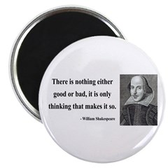"Shakespeare 17 2.25"" Magnet (100 pack)"