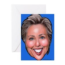 Political caricatures Greeting Cards (Pk of 10)