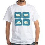 Thunder Fart White T-Shirt