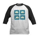 Thunder Fart Kids Baseball Jersey